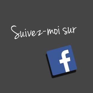 Suivez-moi sur Facebook !