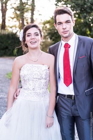 Les enfants de la mariée...
