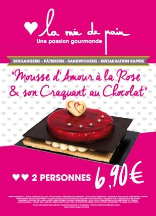 Affiche La mie de pain - Saint-Valentin 2015 - Cd-Mentiel